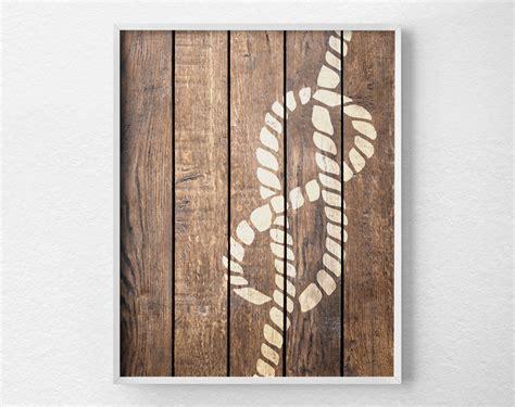 Decorative Nautical Rope by Nautical Rope Decor Nautical Print Nautical Decor Rustic