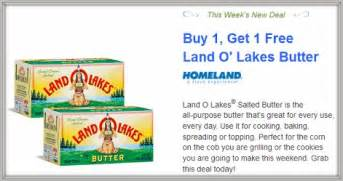 new aisle50 bogo land o lakes butter consumerqueen