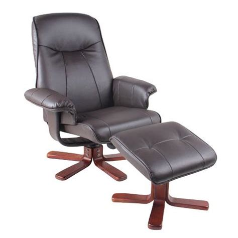 benchmaster swivel recliner chair ottoman set benchmaster 7660 073 reclining swivel brown chair with