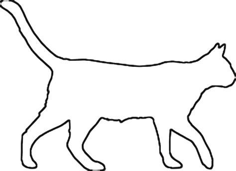 cat templates cat outline cliparts co