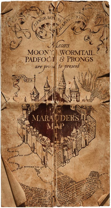 Marauders Map harry potter filmmakers reveal the most complicated