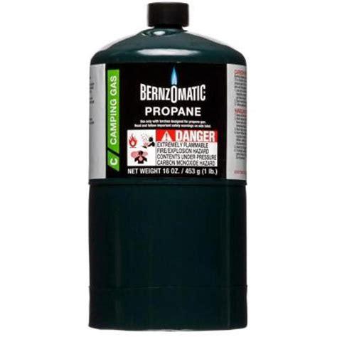 Home Depot Propane Refill by Bernzomatic 1 Lb Single Propane Cylinder Liquid Propane