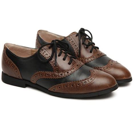 oxford shoes womens cheap free shipping vintage flat brogue shoes or
