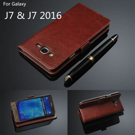 Flip Cover Miror Samsung J710 J7 2016 Autolock Clear View card holder cover for samsung galaxy j7 2016 j710f j710 leather phone wallet flip