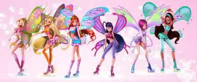winx club characters 3dwinx club
