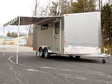 awnings for trailers image gallery trailer canopies