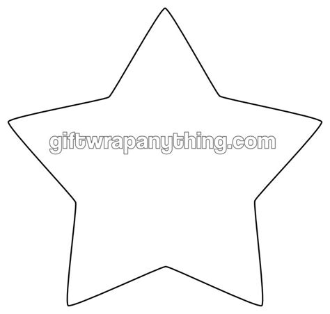 6 best images of printable cut out star shape free