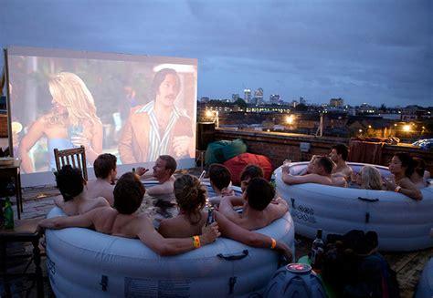 Bathtub Cinema by Tub Cinema