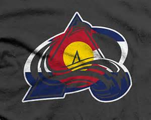 colorado avalanche colors popular items for avalanche on etsy
