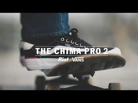 Harga Vans Chima Pro 2 vans chima pro 2 wear test review by riot skateshop