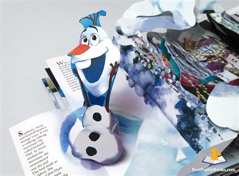 pop up frozen a pop up adventure best pop up books