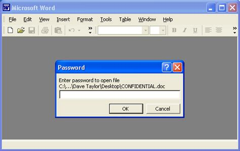 How do I create a password protected Word document?   Ask