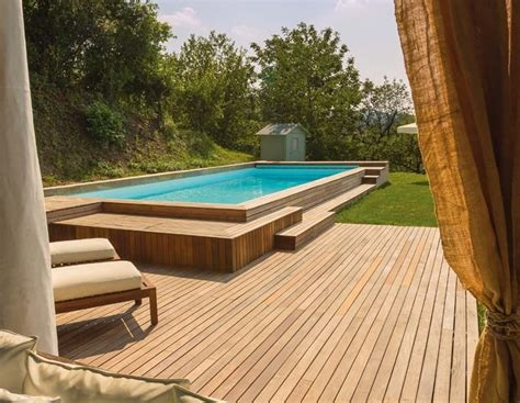 piscine da giardino interrate piscine da giardino fuori terra piscine piscine fuori