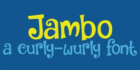 Dafont Jambo   dk jambo font dafont com