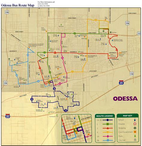 midland texas maps odessa route map odessa texas mappery