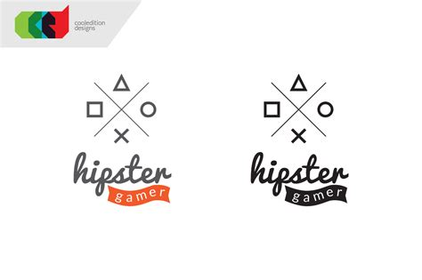 hipster gamer logo free bc logo templates on