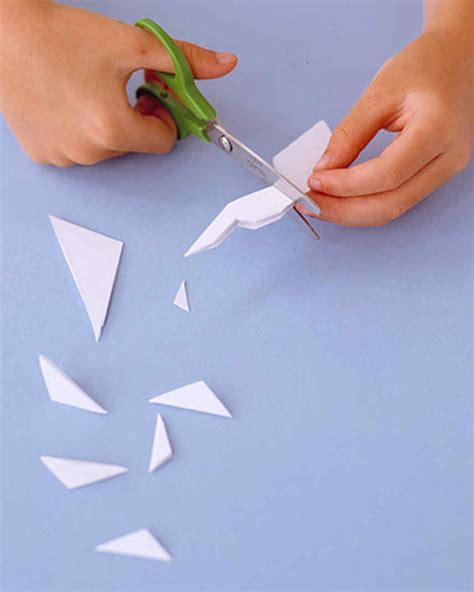 How To Make Paper Cutting - how to make paper snowflakes martha stewart