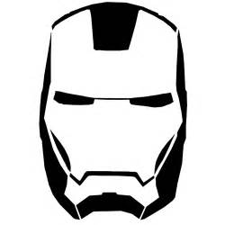 iron man clipart black and white clipartsgram com