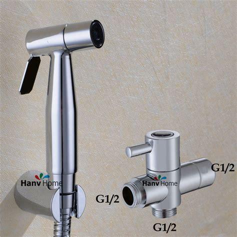 bidet jet spray stainless steel chrome toilet handheld sprayer
