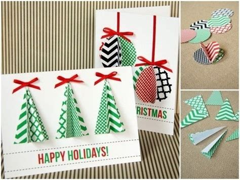 Easy Gift Card - 23 creative ways to make christmas cards pretty designs