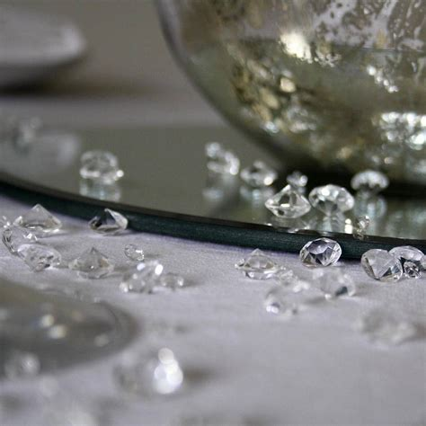 Table With Crystals Table Scatter Crystals By The Wedding Of Dreams