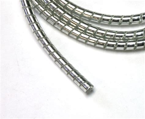 chrome wire cover motorcycle cable wiring chrome plastic coil wiring covering