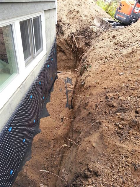 17 best images about exterior drain tile systems on