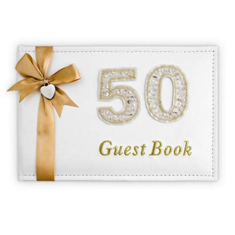 Halloween Entertainment Ideas - guest book 50th birthday anniversary gold decorations party supplies party shop