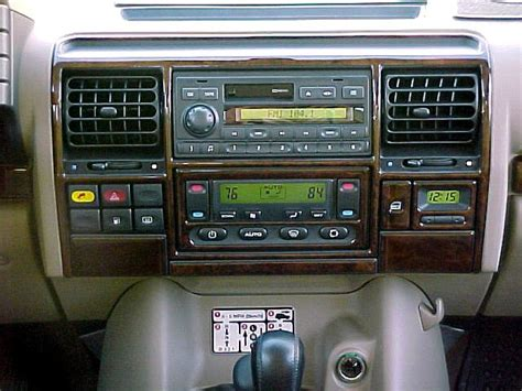 land rover discovery 2 radio land rover discovery ii dash kit photos