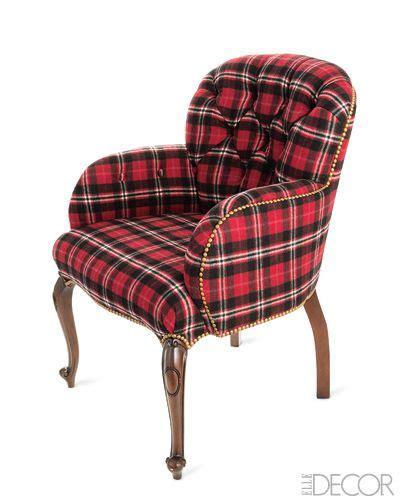 Tartan Chair Tartan Plaid Chair My Style Traditional