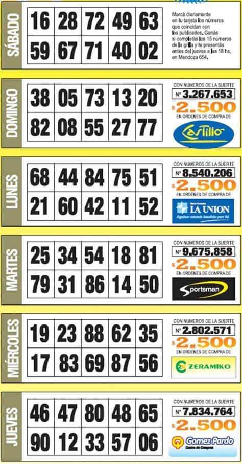 numeros de oro la gaceta grilla completa semana 21 la grilla completa de los n 250 meros de oro de la semana n