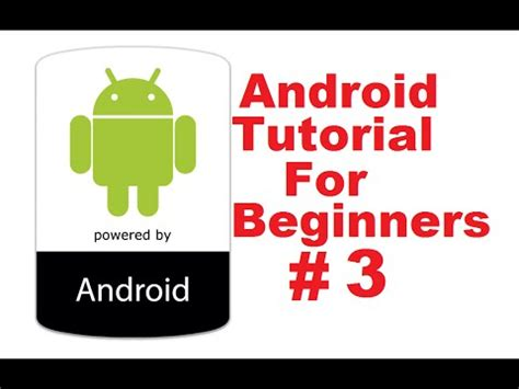re tutorial android http client on android with android tutorial for beginners 3 building your first