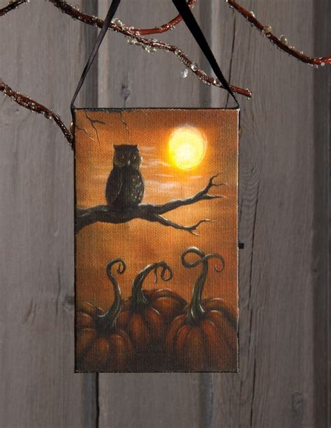 lighted canvas pictures wholesale radiance lighted canvas be wise owl ornament