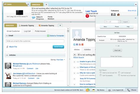 Salesforce Service Desk by Modernize Your Company With Hosted Help Desk Solutions