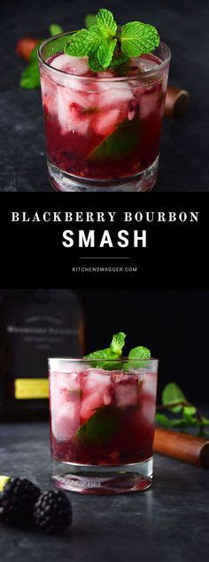 blackberry bourbon smash recipe kitchen swagger best muddled with two limes recipe on