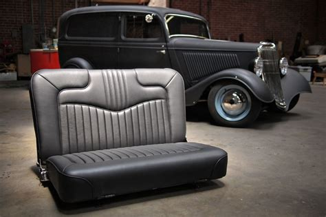 Antique Auto Upholstery by Floyd 1934 Ford Sedan Delivery 171 Lucky S Hotrod