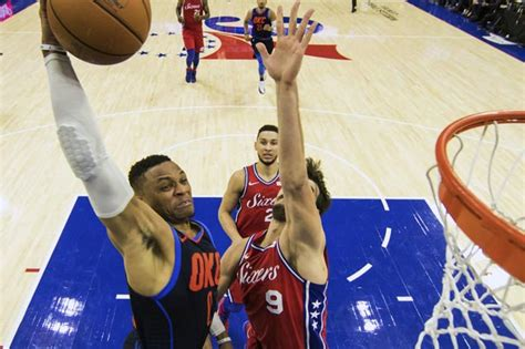 Westbrook Mba by Westbrook Has As Thunder Win