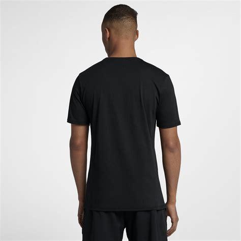 Rf T Shirt White nike mens rf t shirt black white tennisnuts