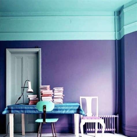 Abbinare Due Colori In Una Stanza abbinare due colori in una stanza pareti azzurre e viola