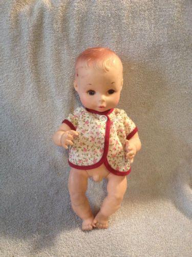 anatomically correct dolls vintage vintage eegee 10 quot newborn baby boy doll anatomically