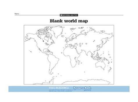 printable world map ks1 blank world map free primary ks2 teaching resource