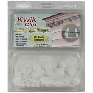 kwik clip holiday light hangers hang your lights to the