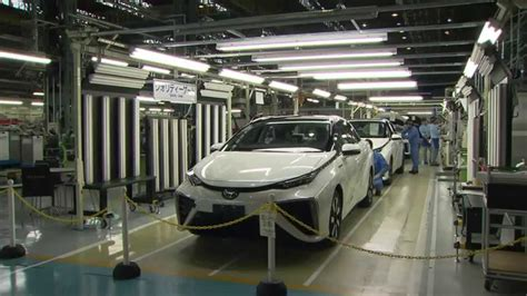 toyota product line toyota mirai production line quality control and