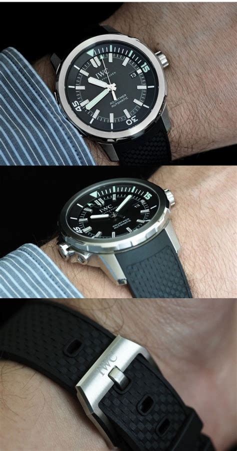 iwc dive watches sporty dive watch iwc aquatimer automatic swiss sports