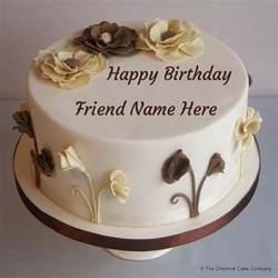 kuchen mit bild drauf write your name on happy friendship day cakes
