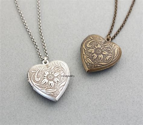 jewelry lockets antique style locket necklace n0308s on luulla