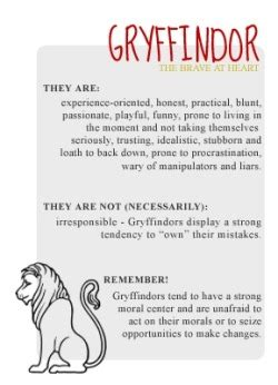 characteristics of harry potter houses harry potter hogwarts gryffindor hufflepuff slytherin
