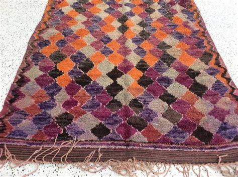 orange and purple rug purple orange moroccan rug for sale at 1stdibs