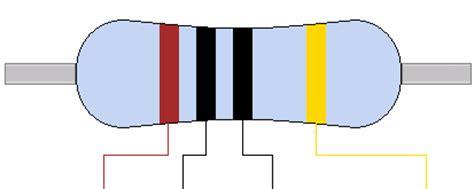 Resistor Color Code 4 Band Calculator