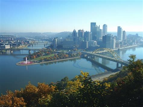 Search Pittsburgh Pittsburgh Pa Pitts Landscape Mt Washington View Photo Picture Image